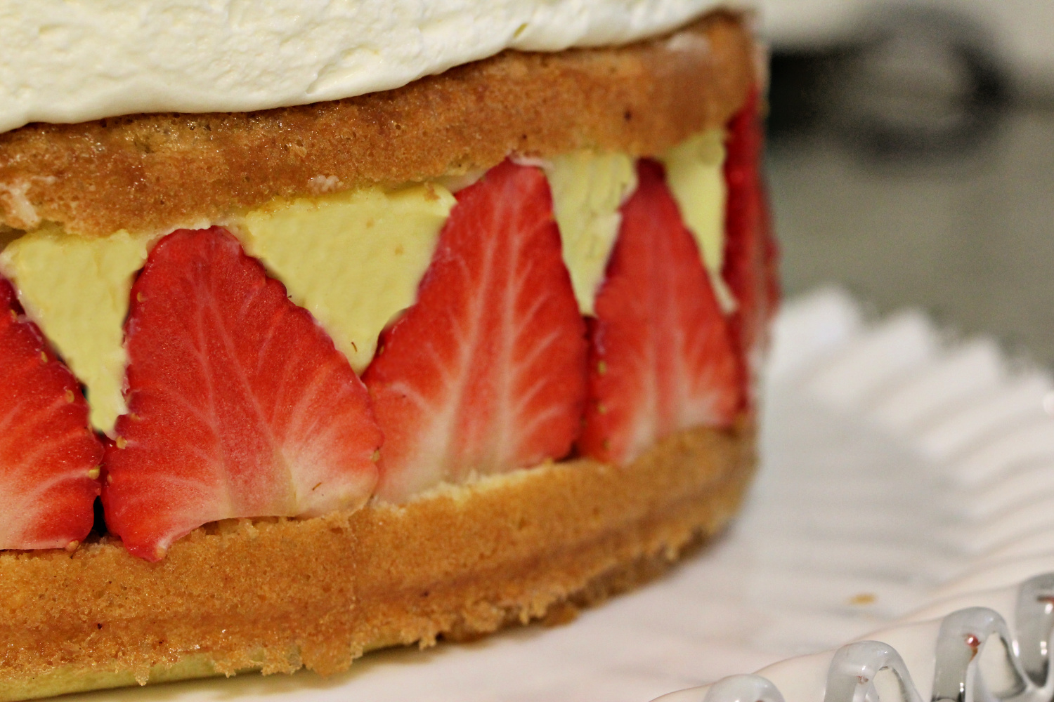 this week's bake – fraisier cake
