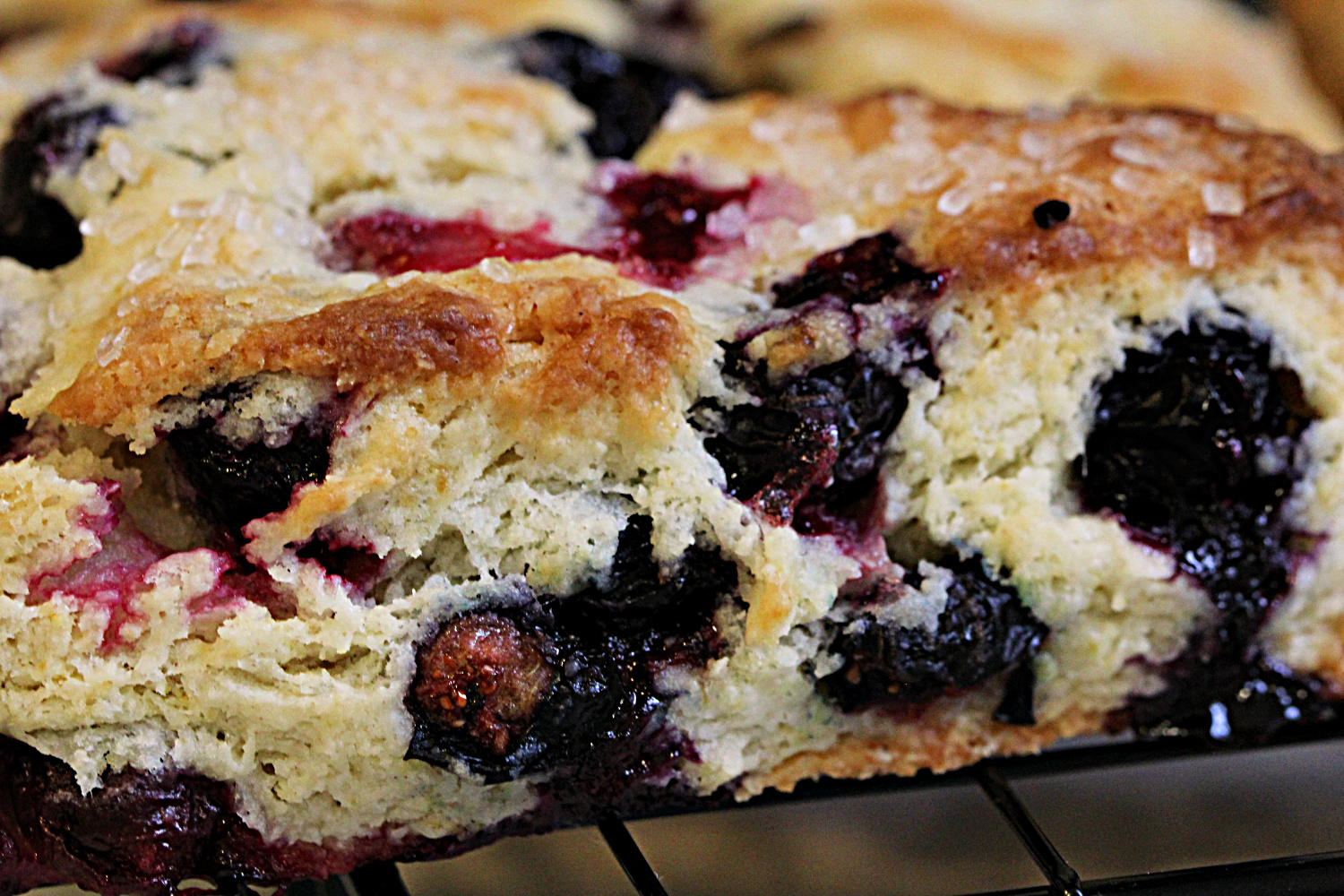 this week's bake – blueberry scones