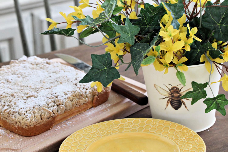 this week's bake – crumb cake