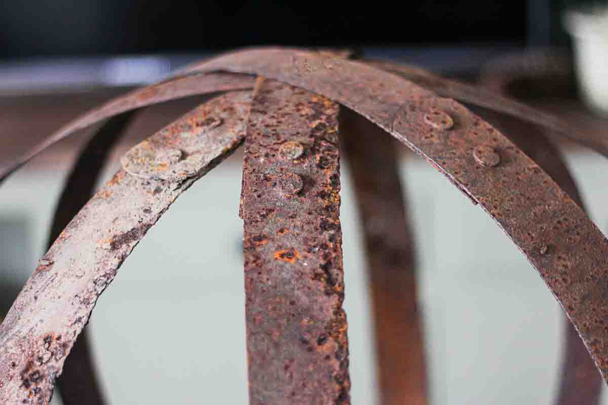 rusty barrel rings