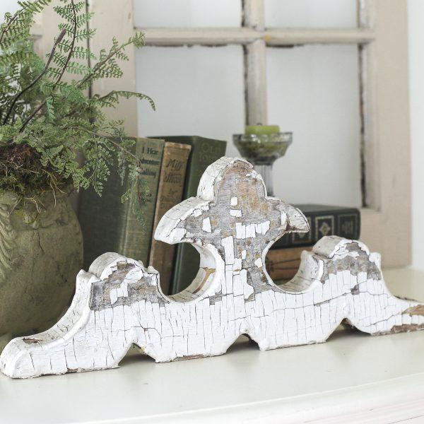 Architectural Salvage, Decorative Wood Piece