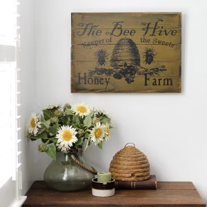 The Bee Hive Sign
