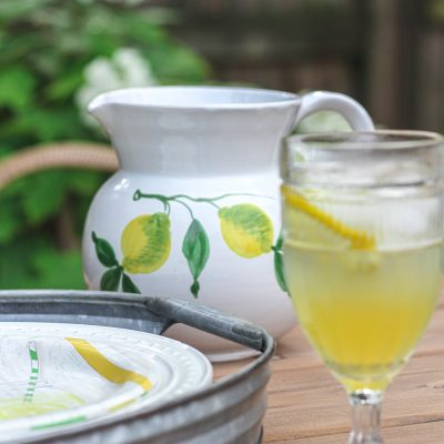 mrs. brown's mint lemonade